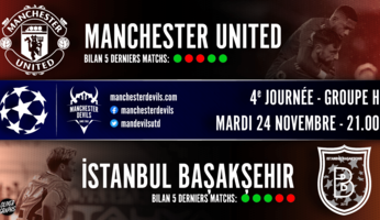 Preview : Manchester United - Istanbul Basaksehir