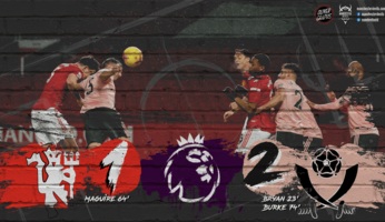 Manchester United 1-2 Sheffield United : inexplicable !