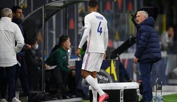 "Raphaël Varane sera absent ""quelques semaines"""