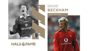 David Beckham à son tour au Hall of Fame de la Premier League