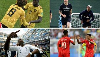 Coupe du Monde : sept Red Devils dans le dernier carré!