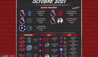 Programme d'octobre 2021 : cascade de chocs en perspective