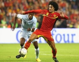 Glasgow attend Fellaini