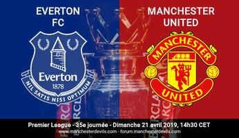 Preview : Everton vs Man Utd