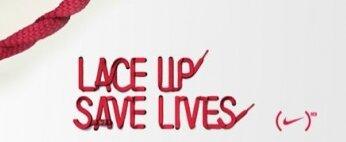 """""""Lace Up"""" contre le sida"""