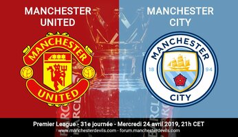 Preview : Manchester United vs Manchester City