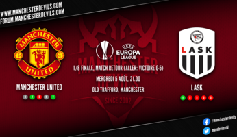 Preview : Manchester United - LASK