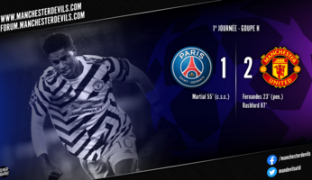 Paris SG 1-2 Manchester United : United toujours roi du Parc