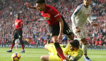 Man Utd 0 Liverpool 0 : United tient le choc des jambes en mousse