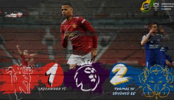 Manchester United 1-2 Leicester City : un match pour du beurre
