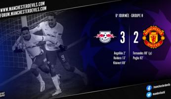 RB Leipzig 3-2 Manchester United : opération sabotage terminée