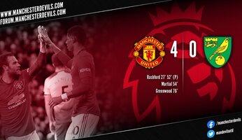 Manchester United 4-0 Norwich : une victoire qui fait du bien