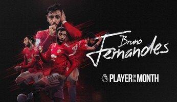 Bruno Fernandes joueur du mois de décembre en Premier League