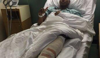 Valencia opéré du pied