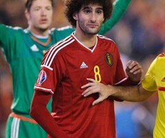 Fellaini forfait contre Galles