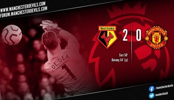 Report : Watford 2-0 Manchester United