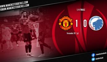 Manchester United 1-0 Copenhague (a.p.) : United dans le dernier carré