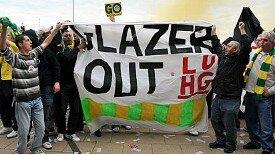 """""""Glazer OUT!"""""""