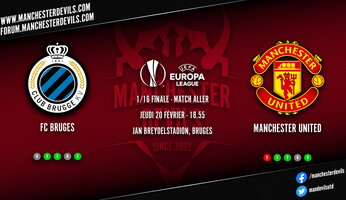 Preview : Club Bruges - Manchester United