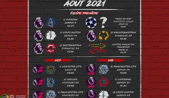 Programme d'août 2021 : un début en douceur ?