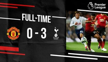 Manchester United 0 Tottenham Hotspur 3 : United a tout faux