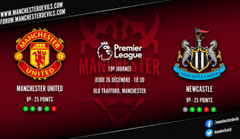 Preview : Manchester United - Newcastle United