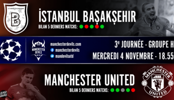 Preview : Istanbul Basaksehir - Manchester United