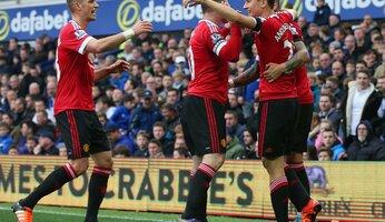 Report : Everton 0 United 3