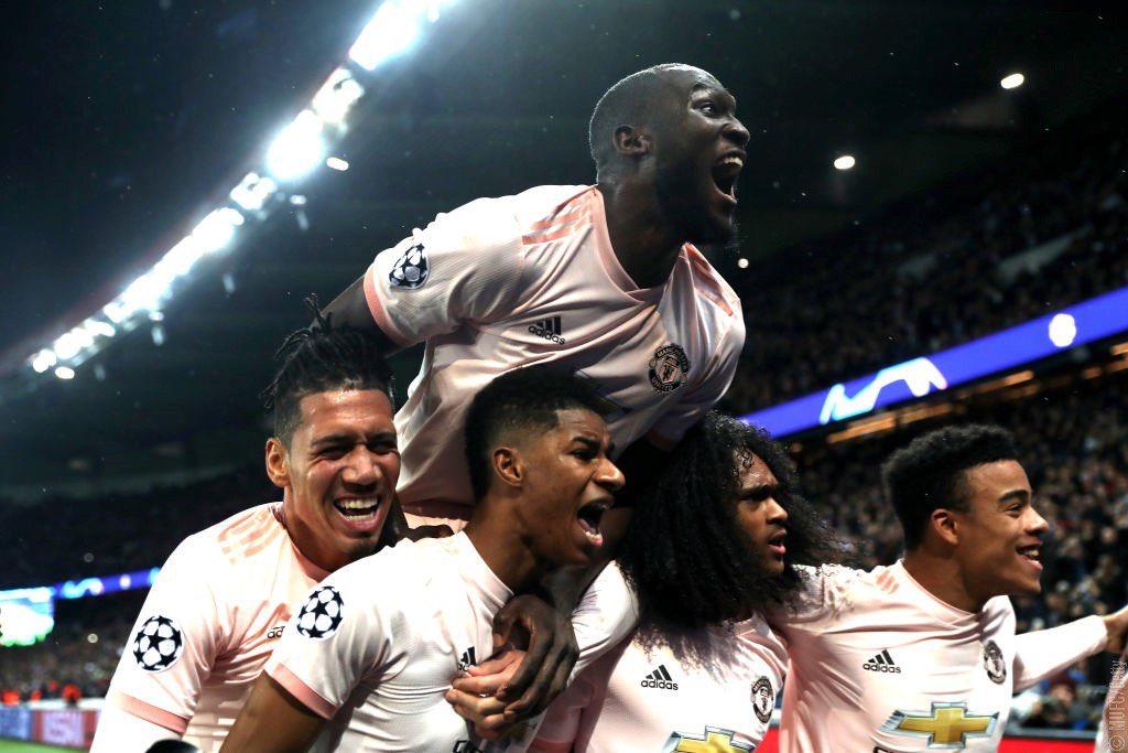 7cb0432d Manchester United, sans de nombreux cadres et titulaires habituels, a  réussi l'incroyable exploit de sortir Paris au Parc des Princes, en  s'imposant 3-1 ...