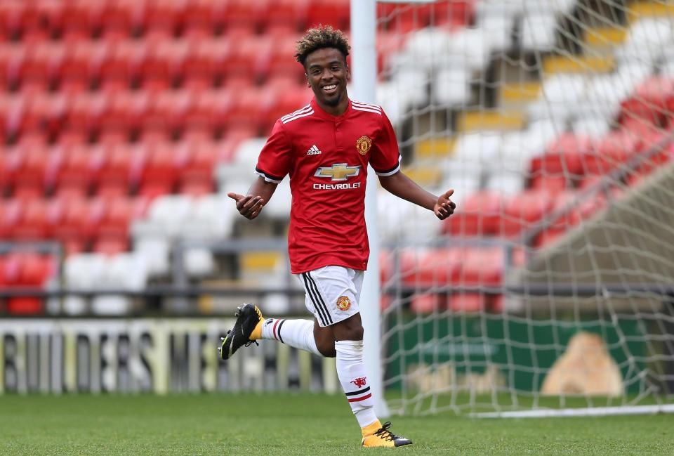 Maillot Domicile Manchester United Angel Gomes